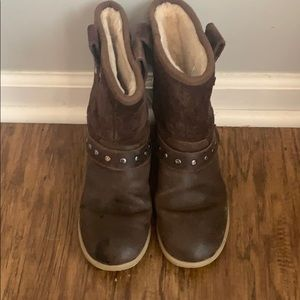 Girls UGG boots- size 1